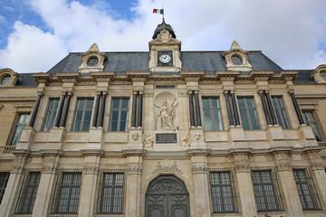 Rathaus von Troyes. Frankreich