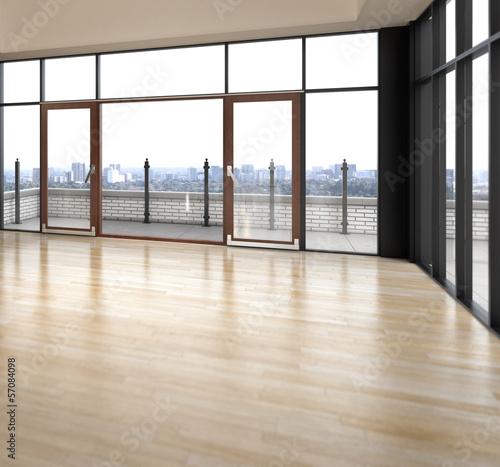 Empty Penthouse Apartment (detail)