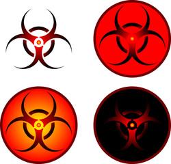 signs of bio hazard
