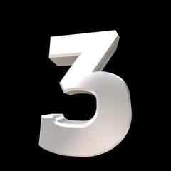 Number 3 chrome