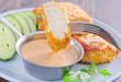 schnitzel and sauce