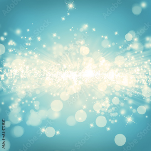 Shiny vintage background with sparkle and stars