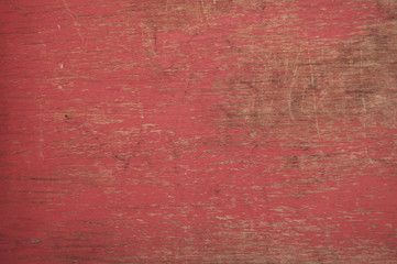 red cracked grunge wooden texture