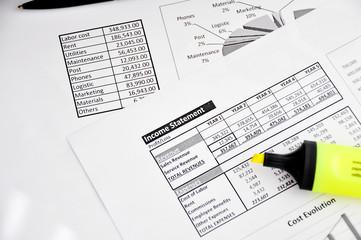 income statement analyze
