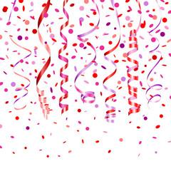 7 Streamers & Confetti Pink Mix
