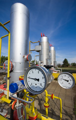 Details in natural gas production industry