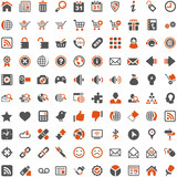 Orange Grey Webicons - Internet Shop Website