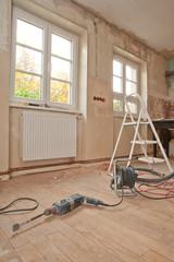 Renovieren, sanieren, Umbau eines alten Elsässer Hofes
