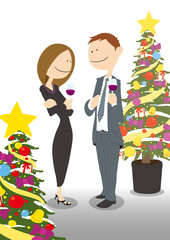 Couple_ChristmasParty