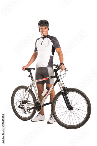 Young Male Cyclist