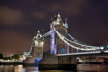 Tower Bridge - London by night