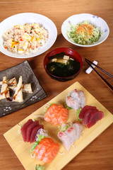 complete japanese menu