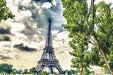 Fototapeta Wonderful view of Tower Eiffel