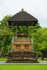 Traditional Balinese pavilion
