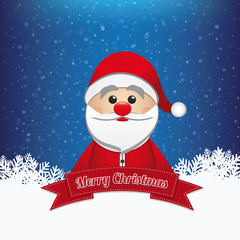 santa claus winter merry christmas