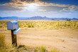 The mailbox in the desert. - 57099060