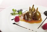 caramelised figs