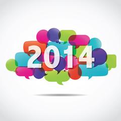 nuage de mots bulles : 2014