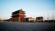 The south of the Tian'anmen Square near Qianmen,Beijing,China