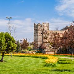 Ancient Walls of Constantinople.