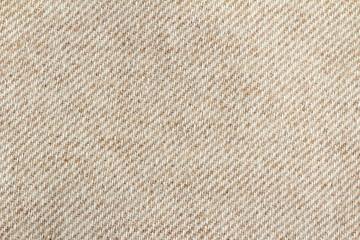beige woollen fabric