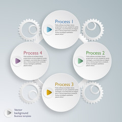 Infographics  Business Improvement #Vector