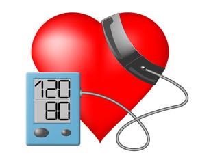 Heart - Blood pressure monitor