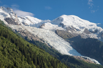Mont Blanc, Gouter and Bossons Glacier