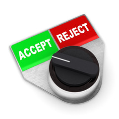 Accept Vs Reject Switch