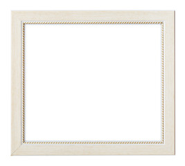 white flat horizontal picture frame