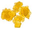 yellow crystals of sugar