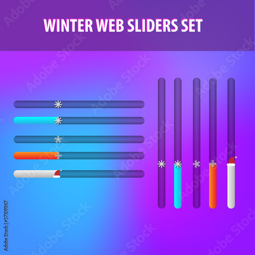 winter web sliders