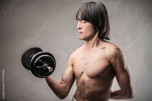 asian athlete