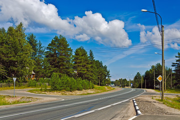Federal highway M18 «Kola» of Saint-Petersburg - Murmansk