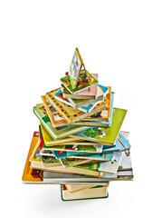 Albero di libri