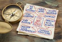 """Постер, картина, фотообои """"tips for well being"""""""