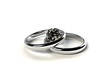 指輪と宝石