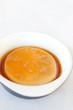 custard in bowl