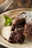Homemade Chocolate Lava Cake Dessert