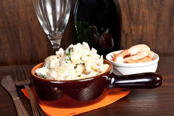 pasta con panna salmone e zucchine