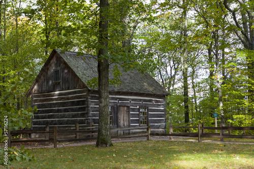 In de dag Grote meren Hesler Log House