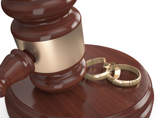 Divorce , Broken rings