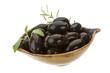 Black gigant olives