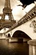 scorcio della Tour Eiffel
