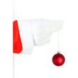 Santa Claus with christmas ball