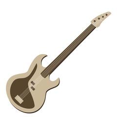 Rock guitar bass