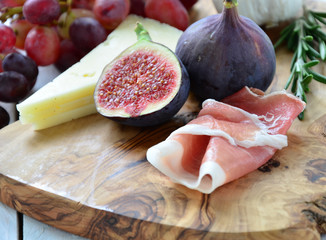 Parma Ham and Figs