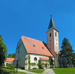 Parish Church of Raabs an der Thaya, Waldviertel, Lower Austria