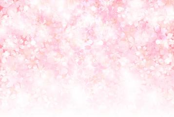桜 背景 年賀状