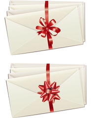 White trabitional envelopes